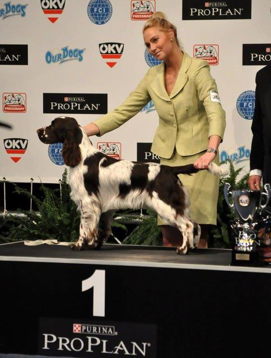 Me with Sieger's Match Point 'Kenzo', WDS 2012
