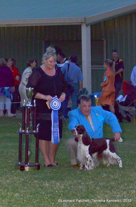 Judging in Australia, summer 2012